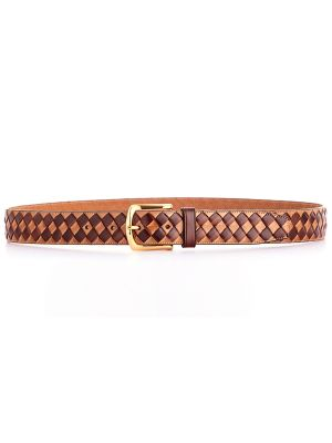 Latina-Classic-Weave-Belt-Polamino&Chestnut